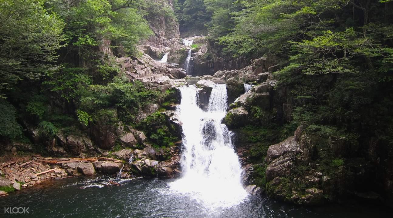 广岛三段峡三段滝