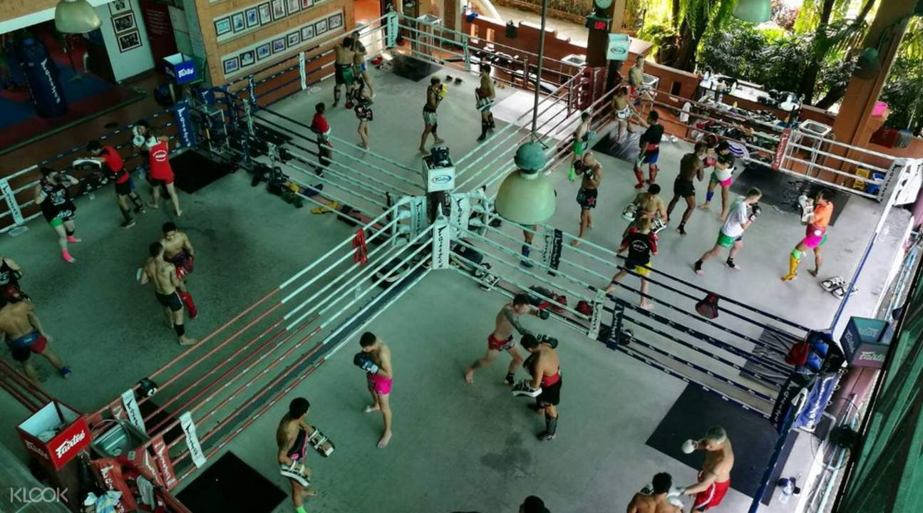 Muay Thai school pattaya