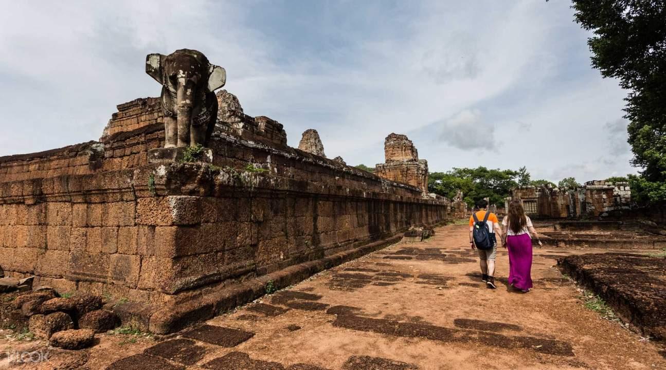 柬埔寨暹粒吳哥窟女王宮嘟嘟車遊覽私人小團