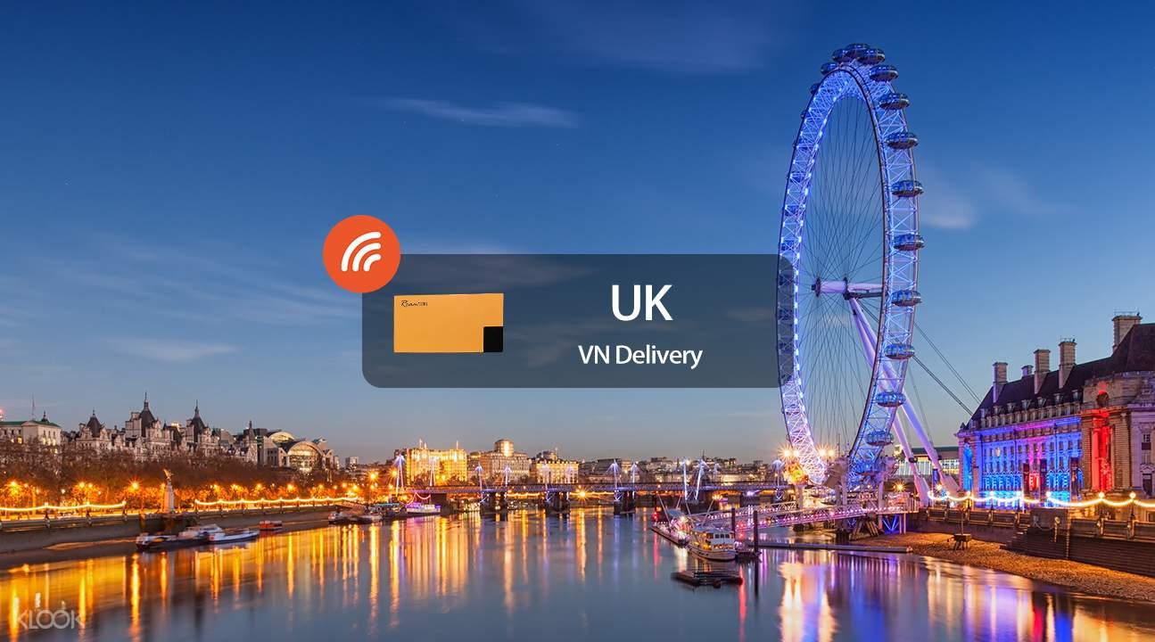 英國4G隨身WiFi越南領取