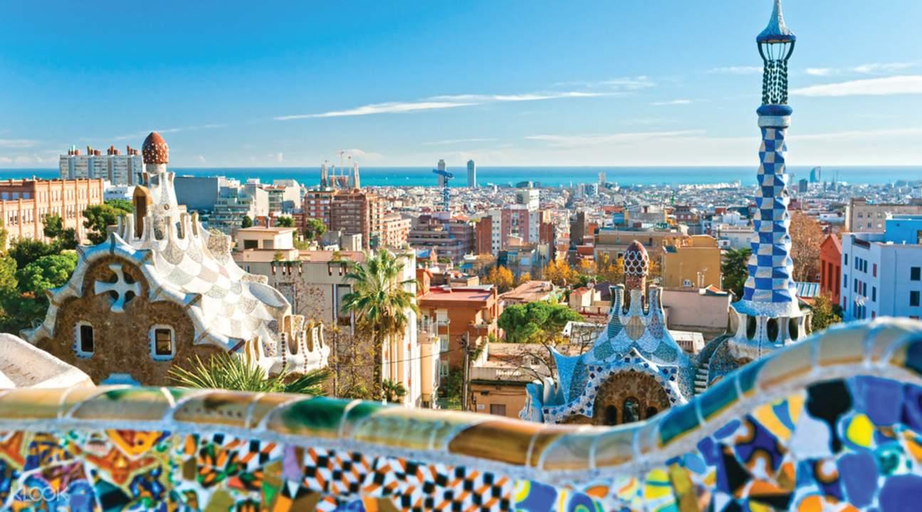 barcelona güell park