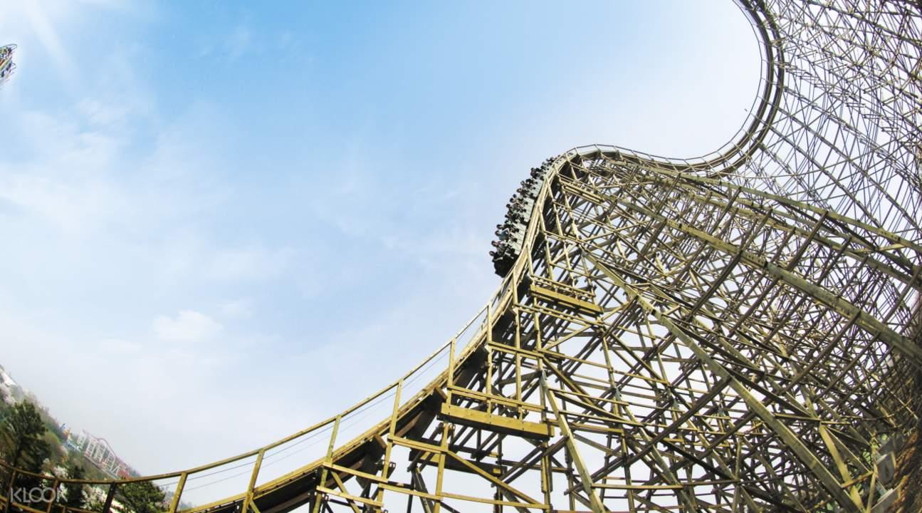 everland theme park in gyeonggi-do