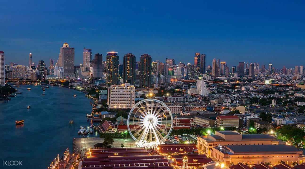曼谷河濱碼頭