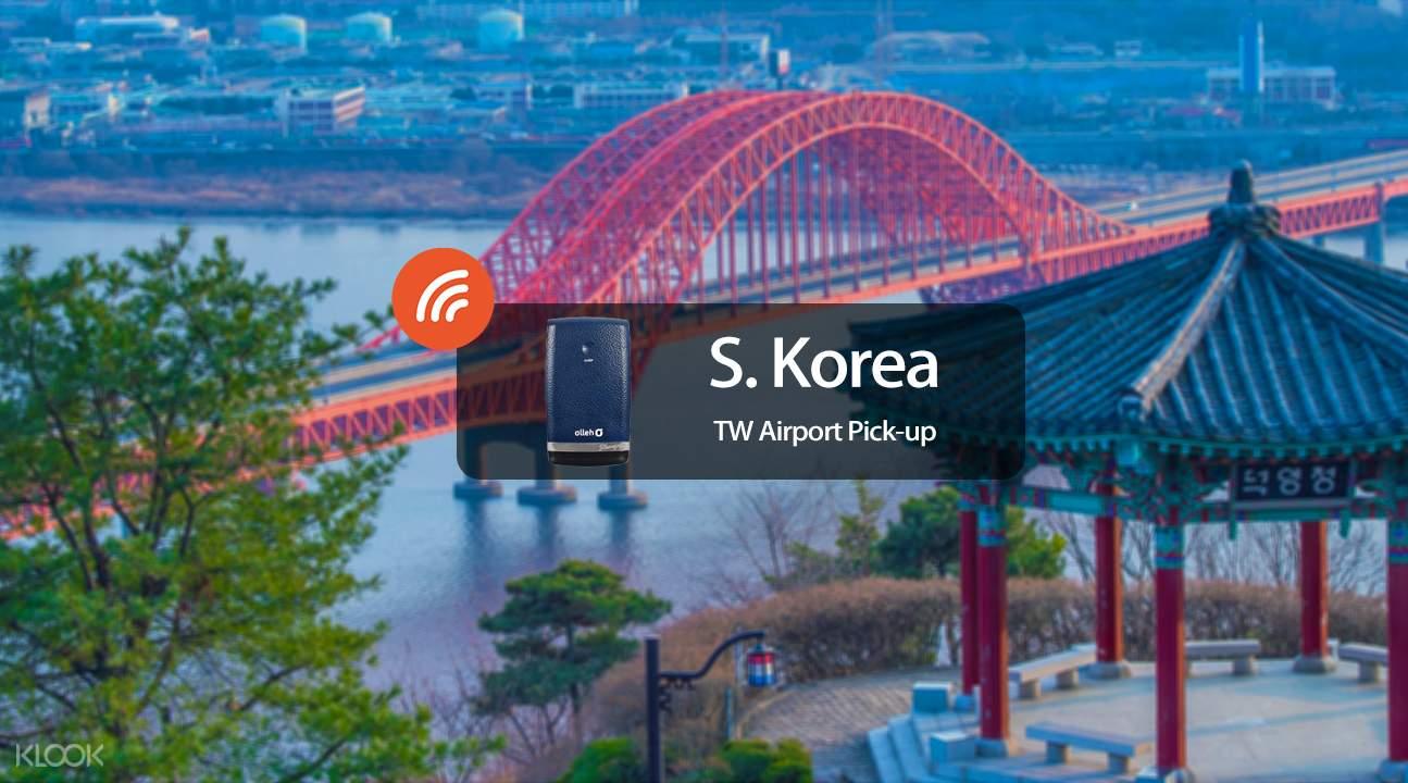 South Korea 4G WiFi