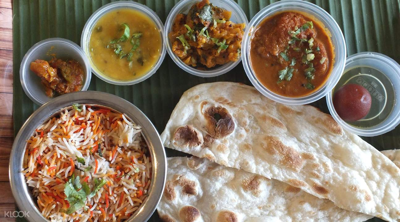 Indian Set lunch at curry gardenn