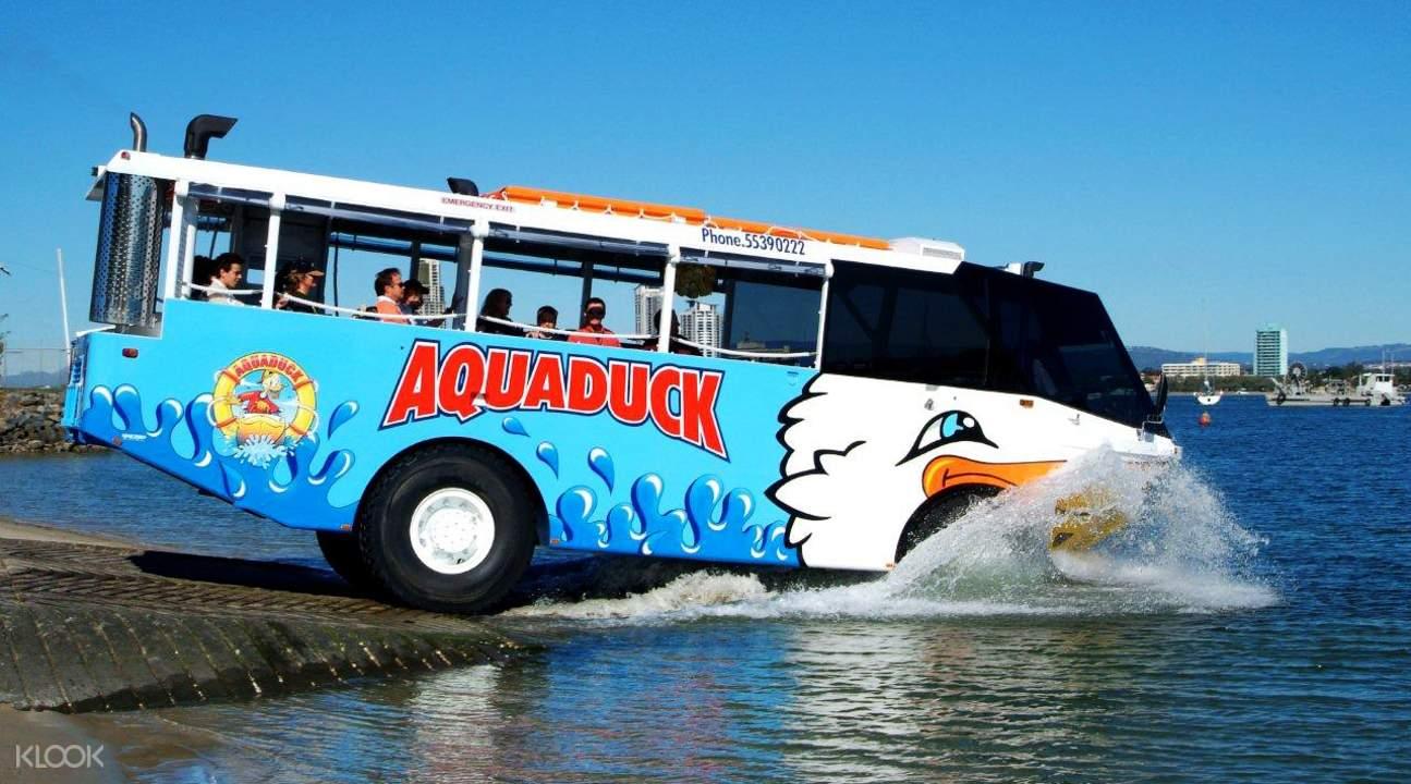 Aquaduck darat dan air gold coast