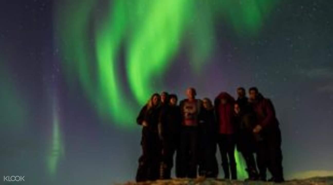 stargazing aurora borealis