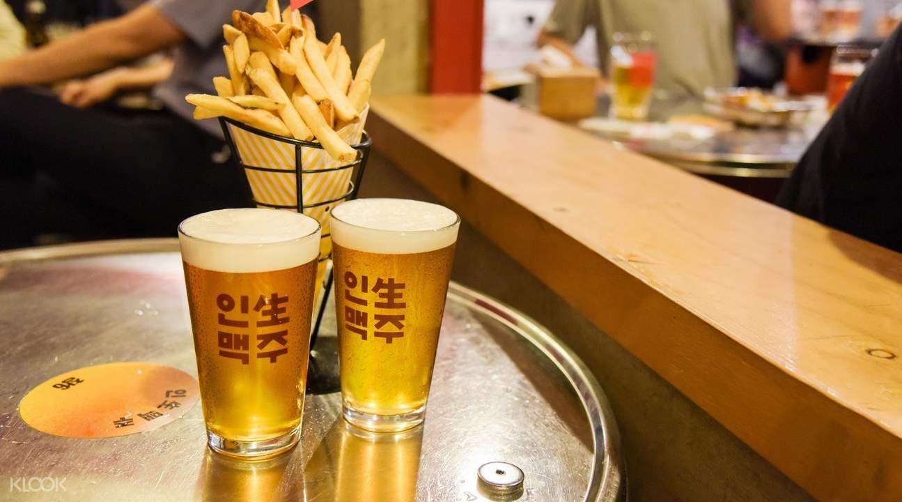 土豆屋薯条 & 啤酒