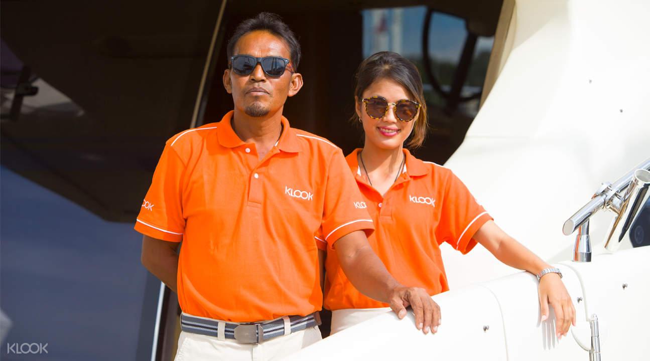 racha and coral island day tour by catamaran