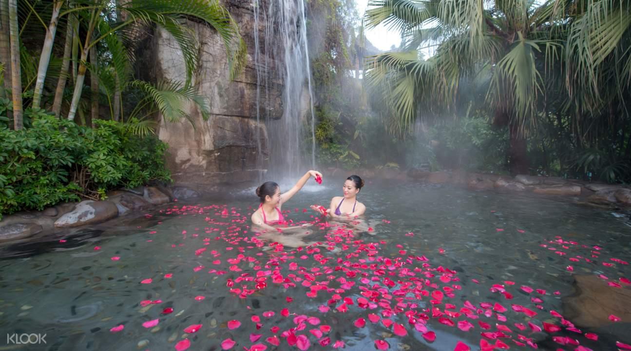 hot spring resort in qingyuan