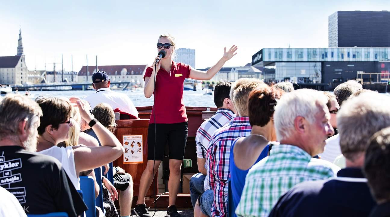 哥本哈根游船导览