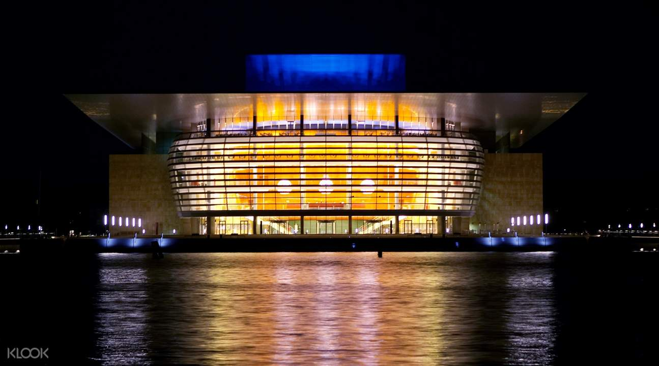 哥本哈根灯光秀