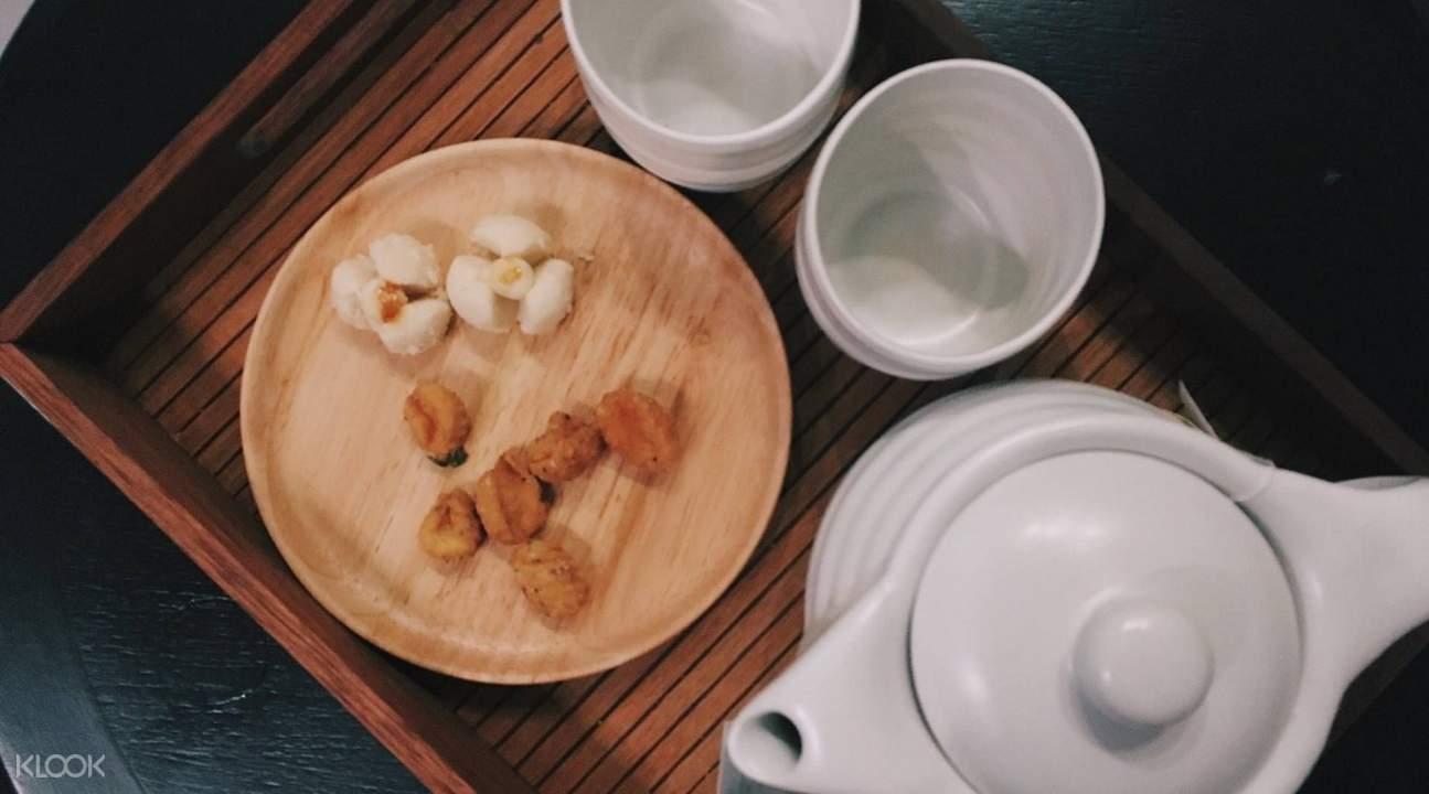 曼谷Pasithea Ultimate Relaxation泰式美味和茉莉茶