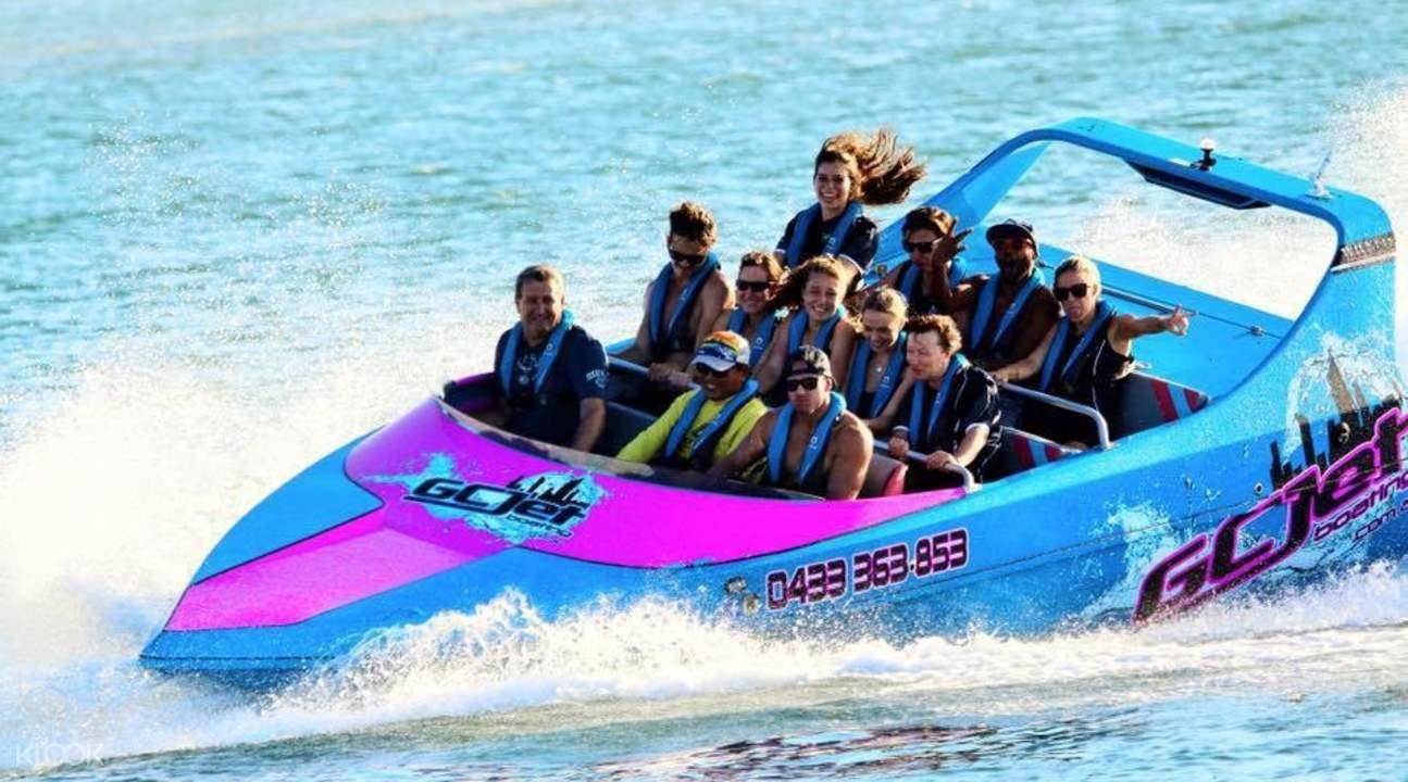 Jet Boat Adventure Gold Coast