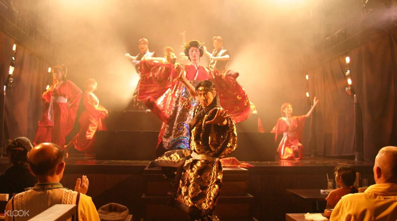 东京六本木香和花魁秀表演 & 无限畅饮