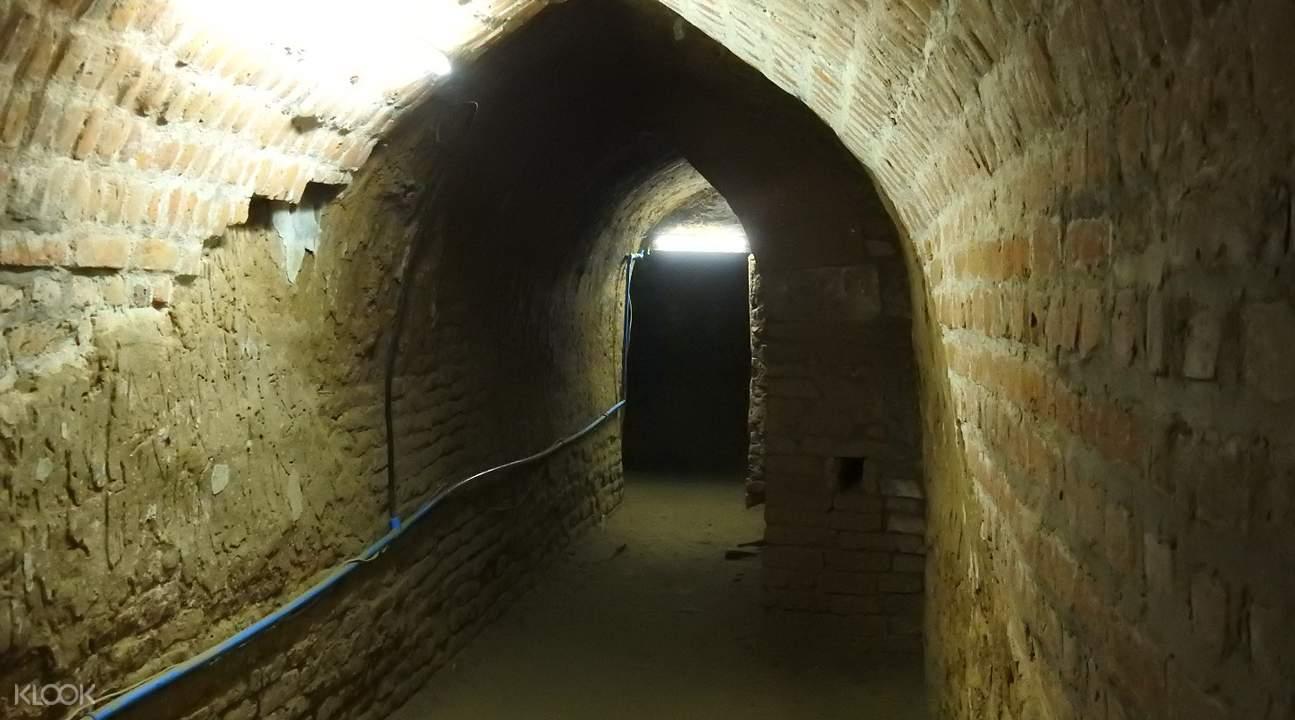 缅甸蒲甘Kyauk Gu U Min寺庙洞穴
