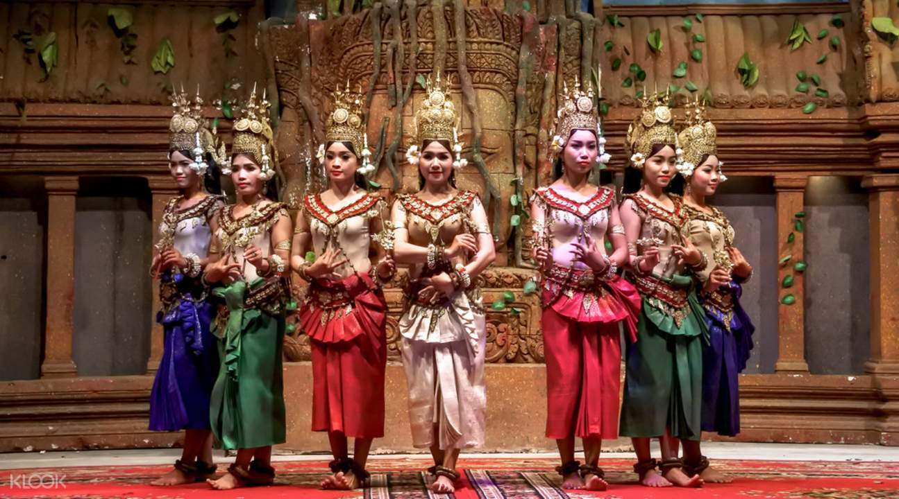 apsara cultural show koulen restaurant khmer dance