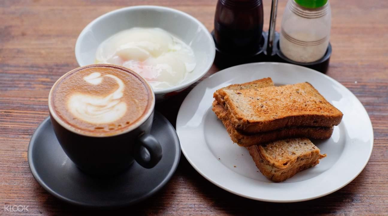 Kaya Toast Set at Keong Saik Bakery in Outram Park
