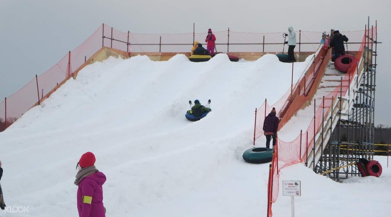 札幌北方雪上樂園雪上活動體驗 & 刷刷鍋吃到飽午餐券