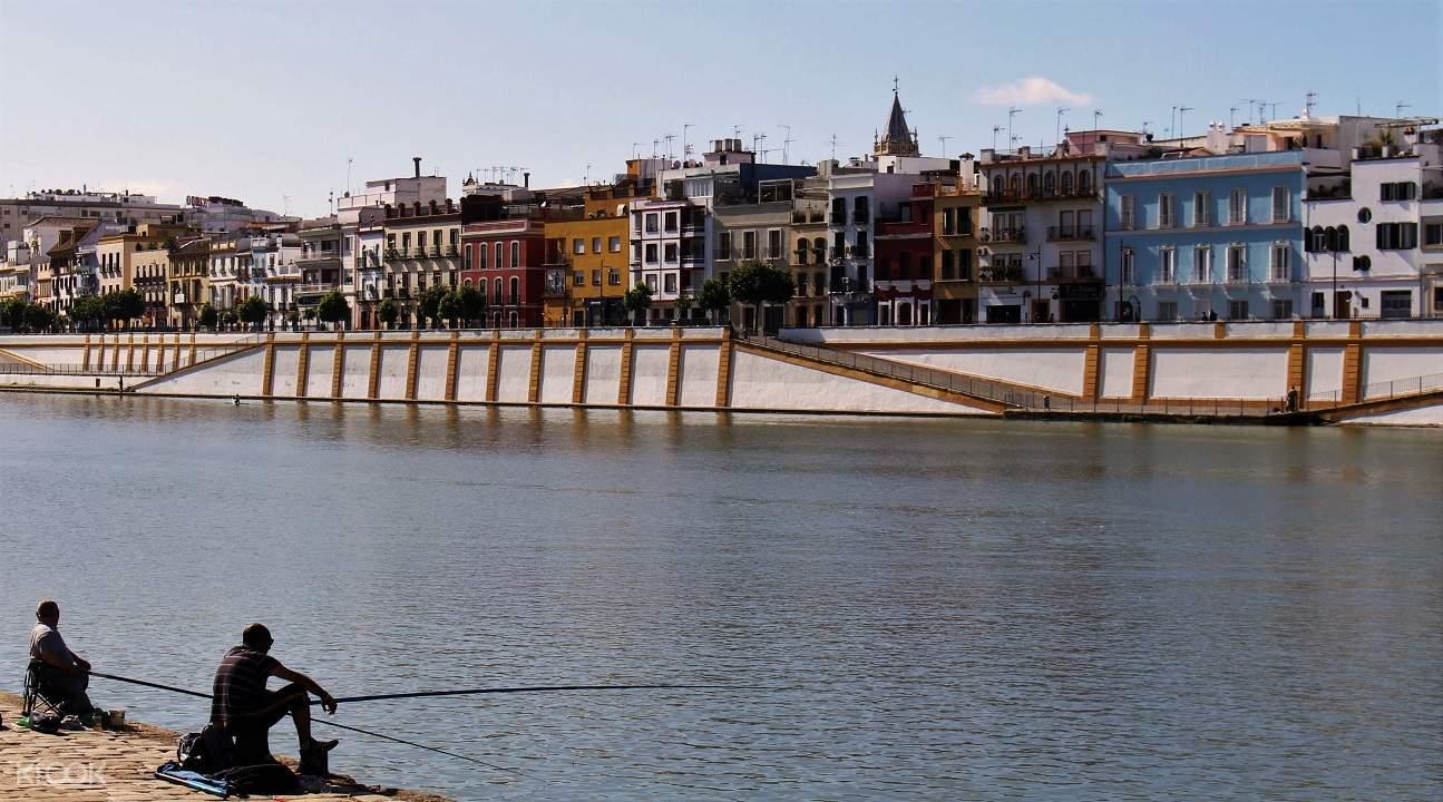 seville night walking tour, seville walking tour, seville flamenco show, triana quarter seville