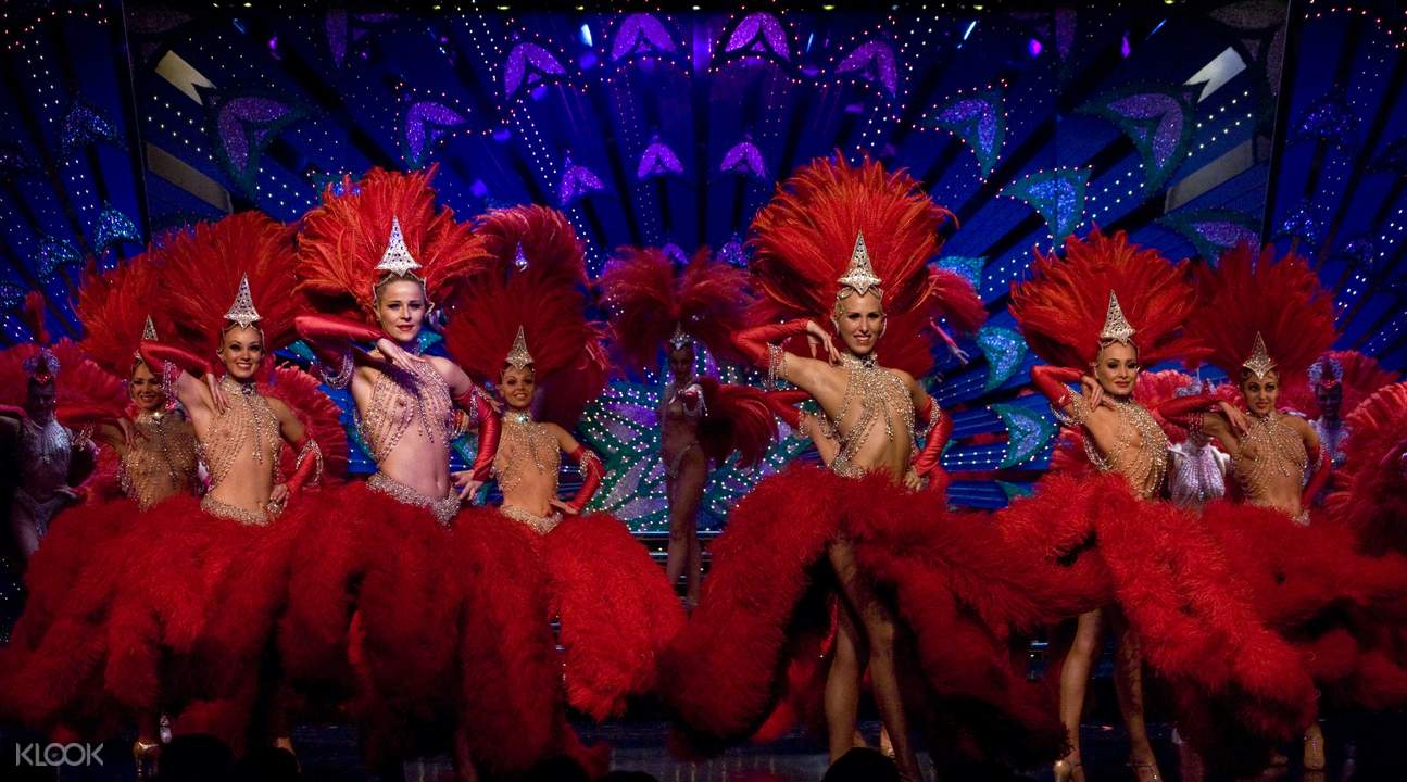 Moulin Rouge Show Ticket with Round Trip Transfers in ...