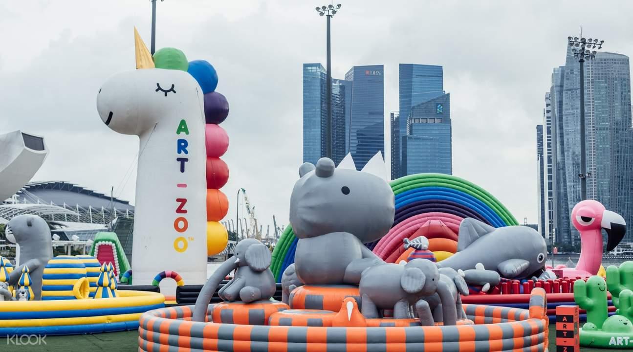 Art-Zoo艺术气垫动物园@2018照亮滨海湾