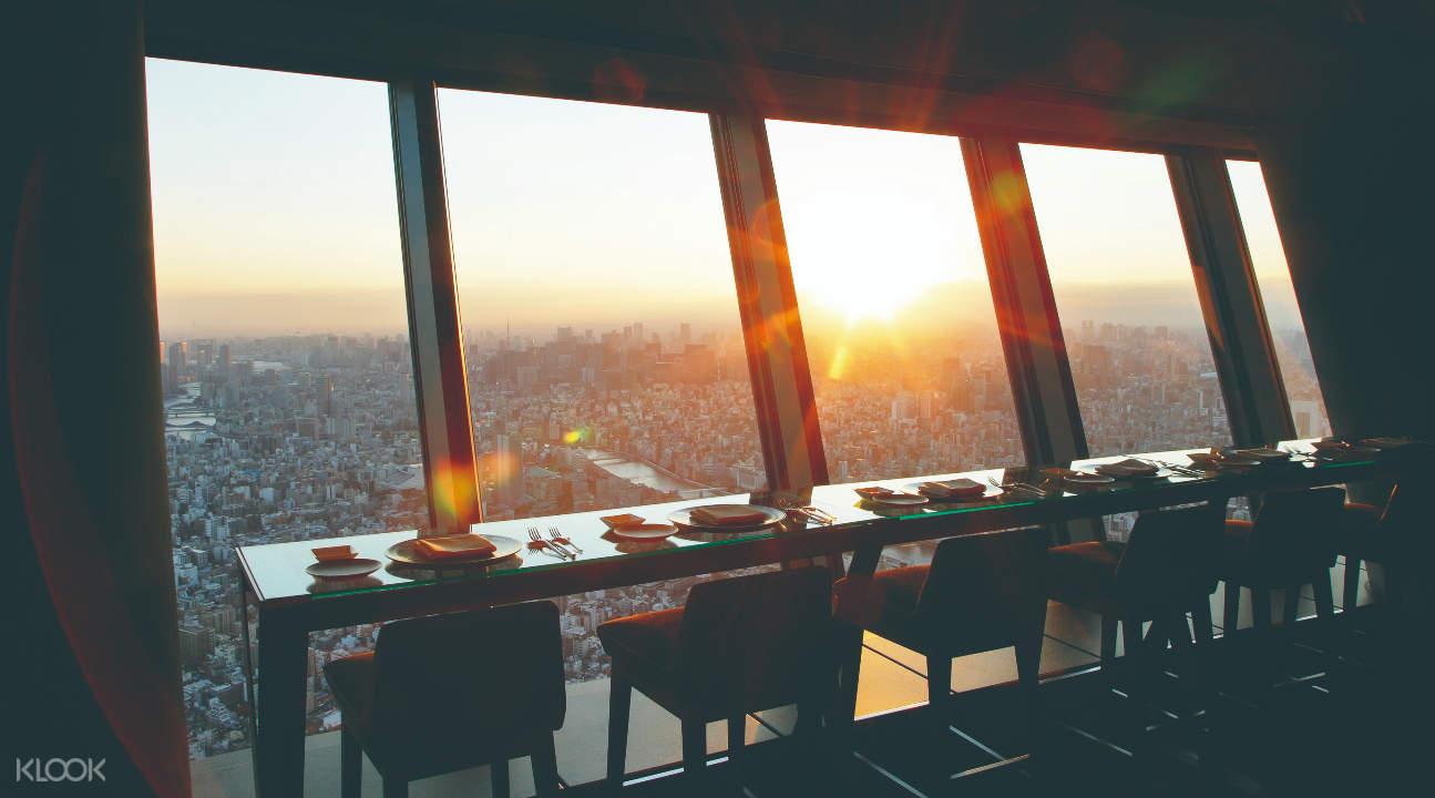 東京晴空塔空中餐廳