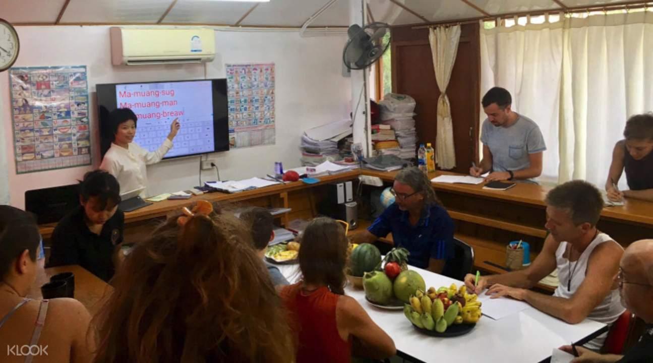 帕岸島職業學校泰國傳統文化課程