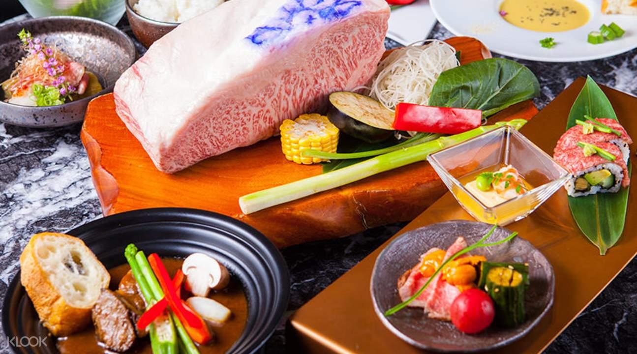 fe353de9024 Steak Sakura Kobe Beef Teppanyaki Course in Namba and Shinsaibashi ...
