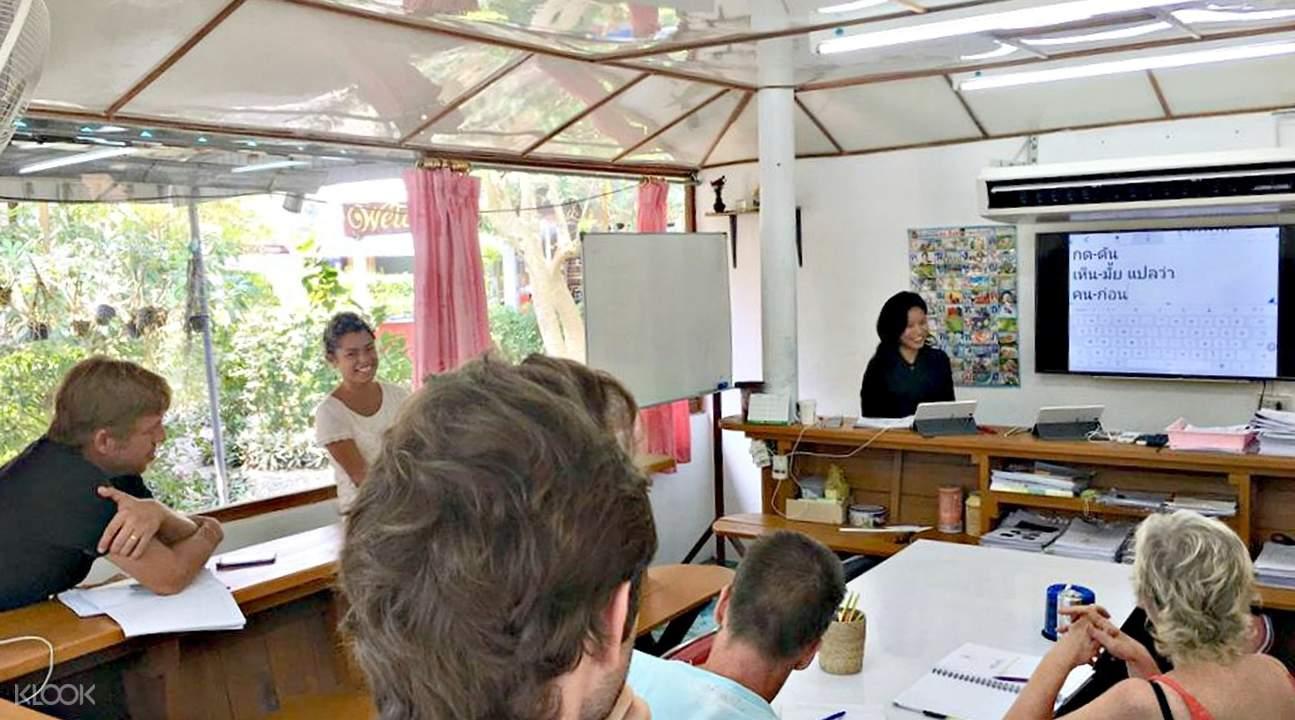 Private Thai Culture Class at Koh Phangan Vocational School