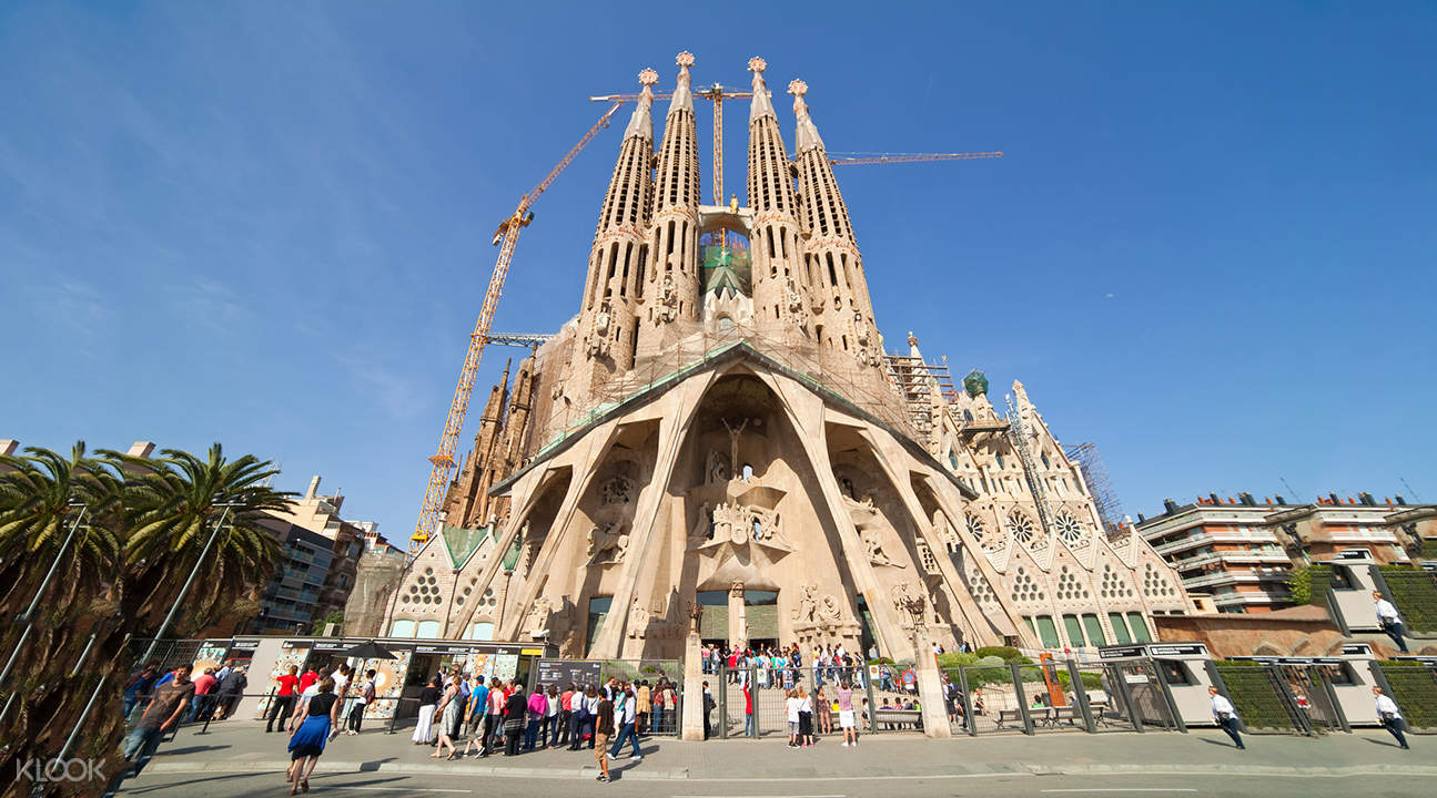 How Long To Tour La Sagrada Familia