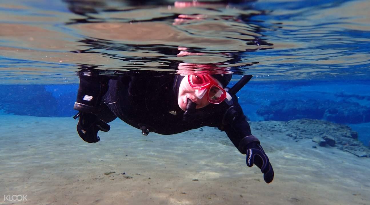 丝浮拉大裂缝浮潜