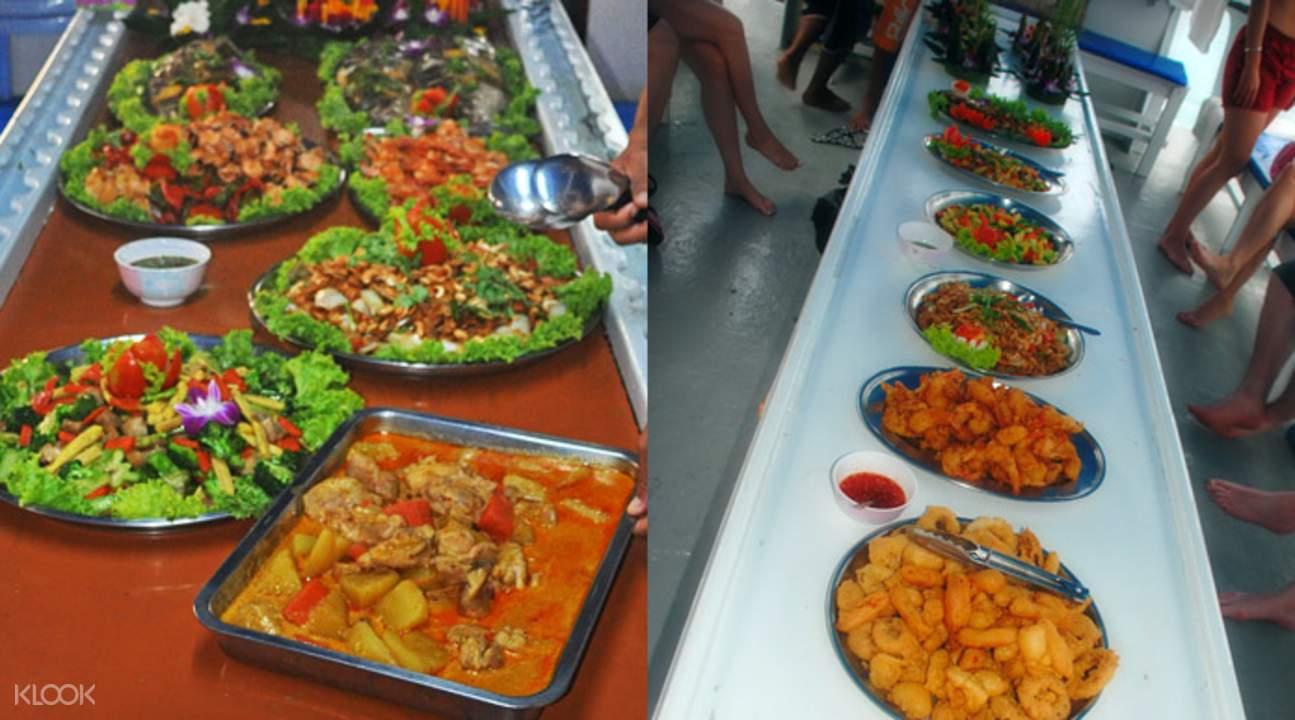 泰国海鲜自助餐