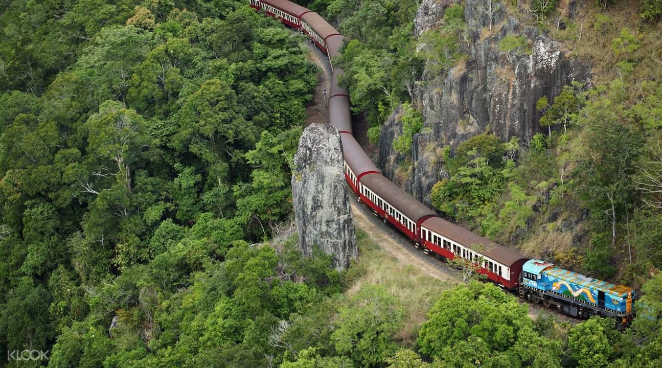 库兰达观光火车