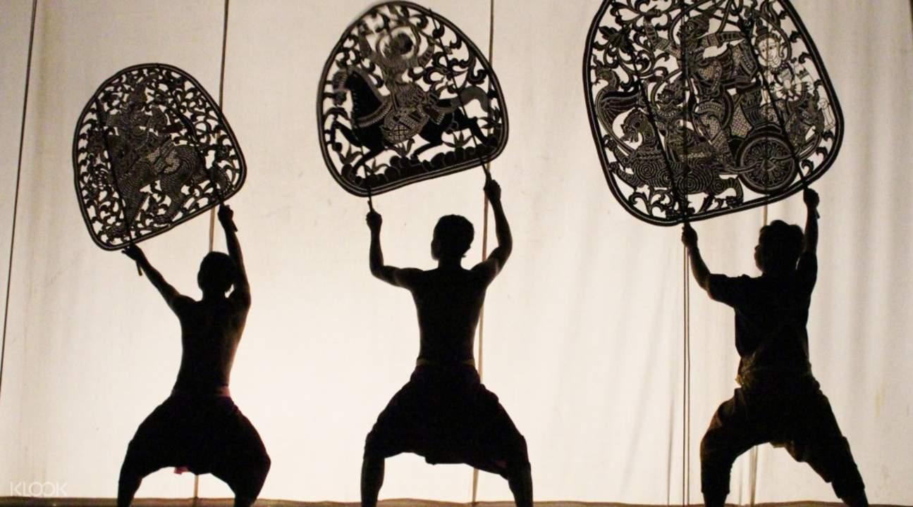 皮影戏文化艺术表演