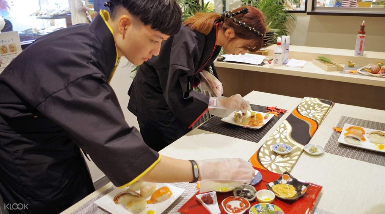 sushi class experience in kyoto
