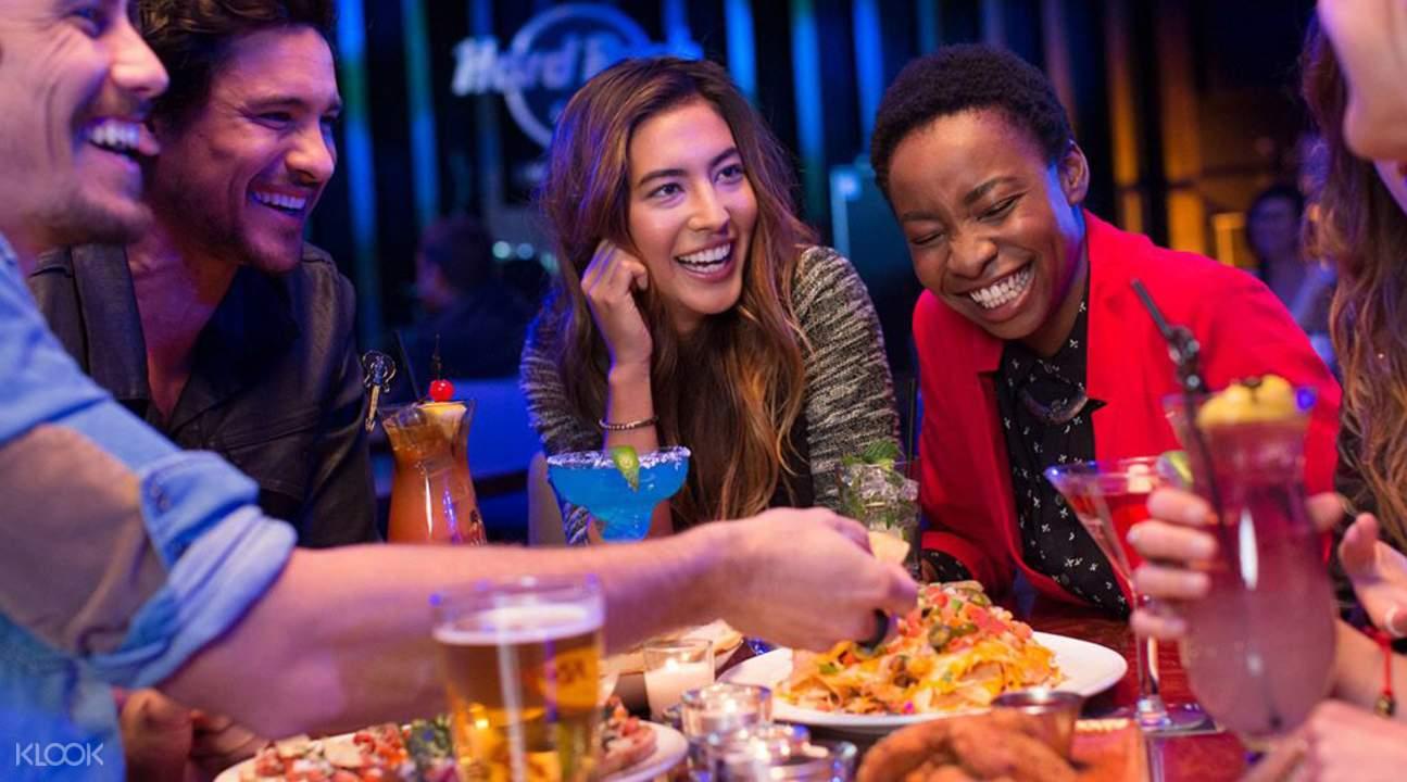 奥兰多Hard Rock Cafe硬石摇滚主题餐厅餐券