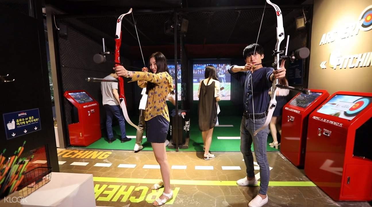 legend heroes sports archery korea