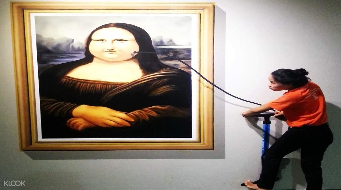 普吉岛3D搞怪摄影博物馆