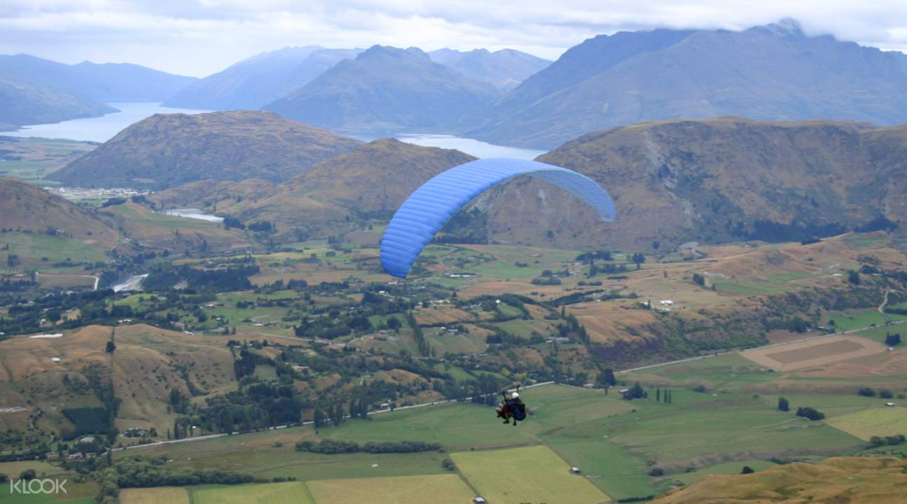 new zealand Paragliding