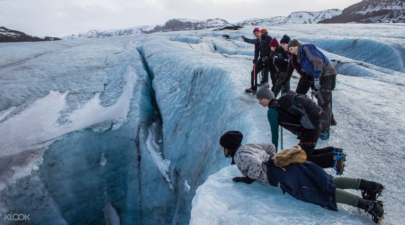 冰島南岸一日遊—索爾黑馬冰川徒步
