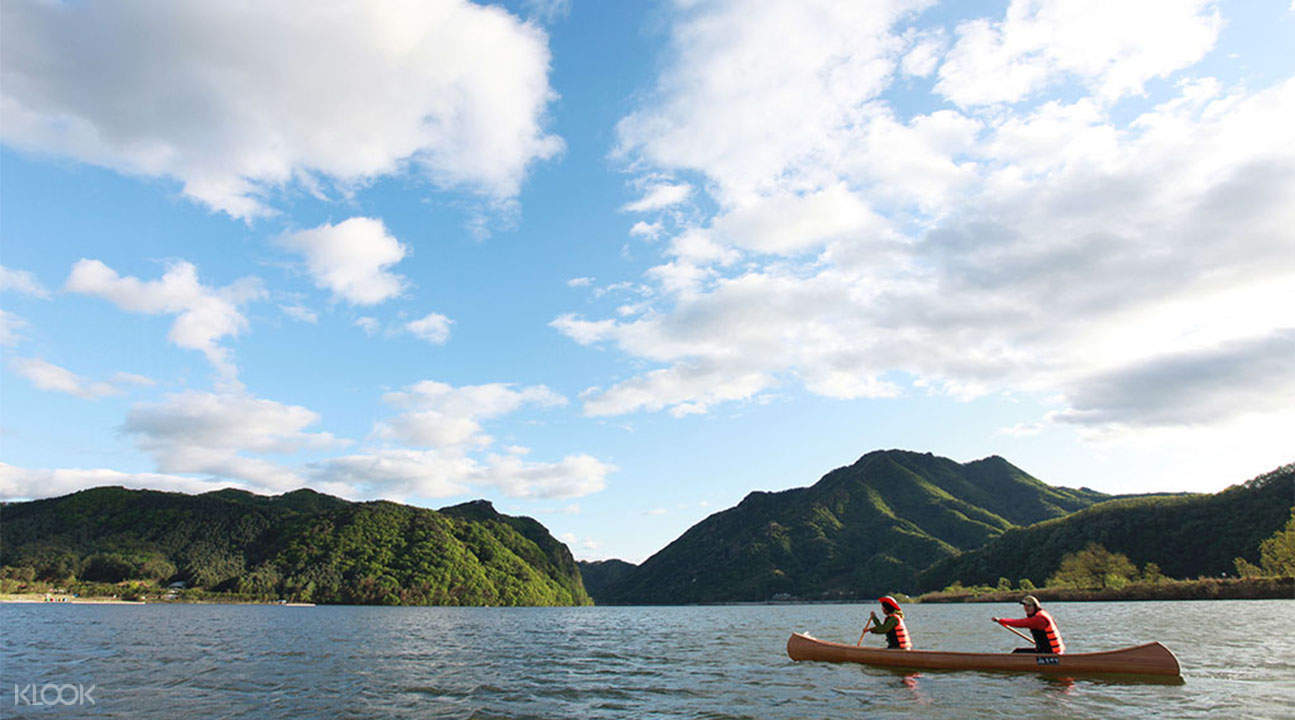 Chuncheon Mulle-gil Canoe and Railbike Tour