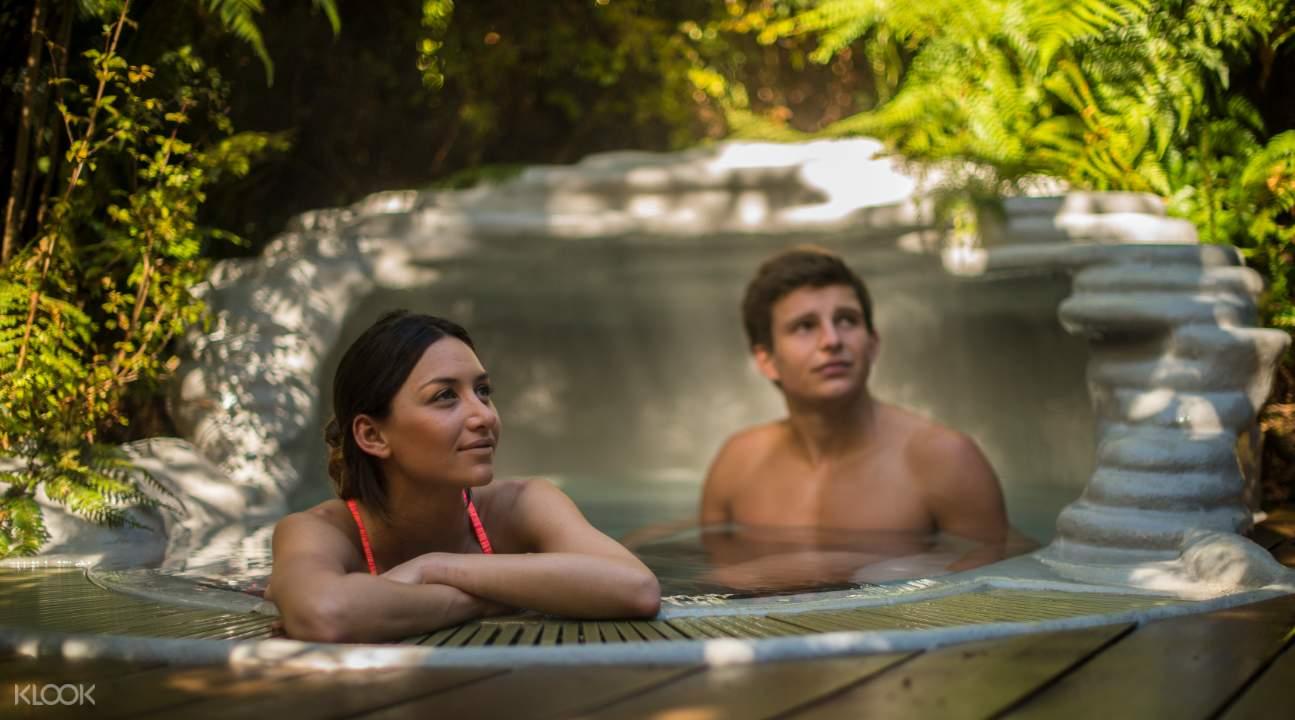 Franz Josef Glacier Hot Pools ticket