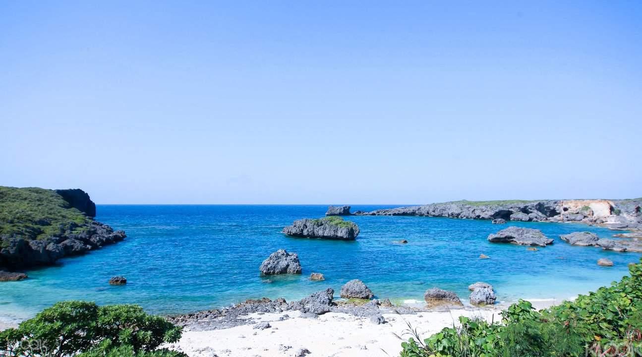 沖繩浮潛和獨木舟1
