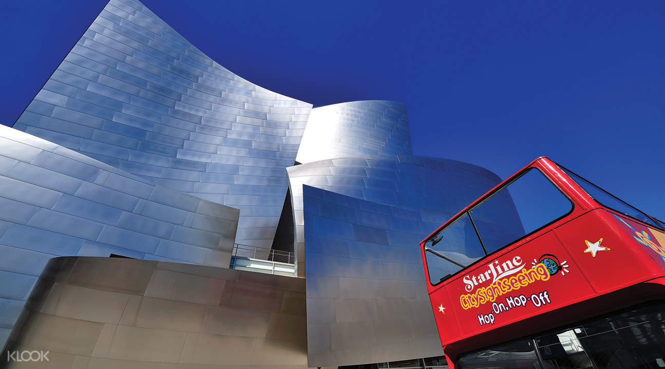Los Angeles and Hollywood Sightseeing Bus Pass - Klook