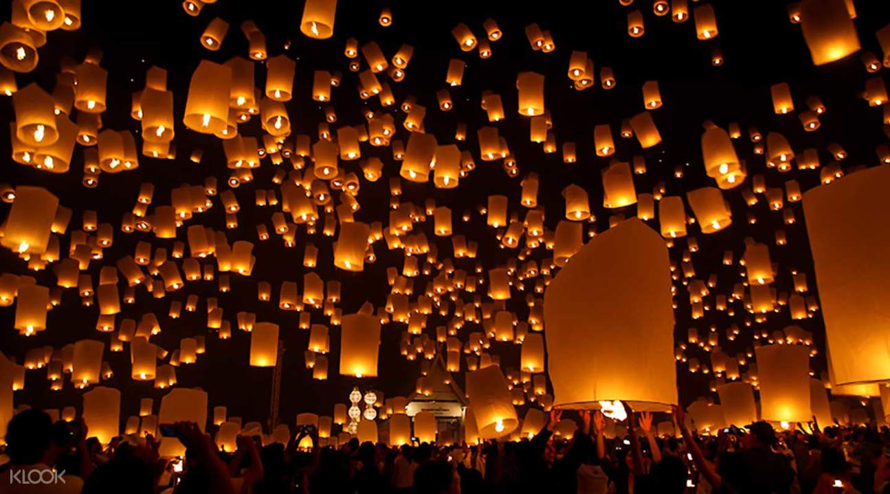 Yeepeng Lanna Light Festival