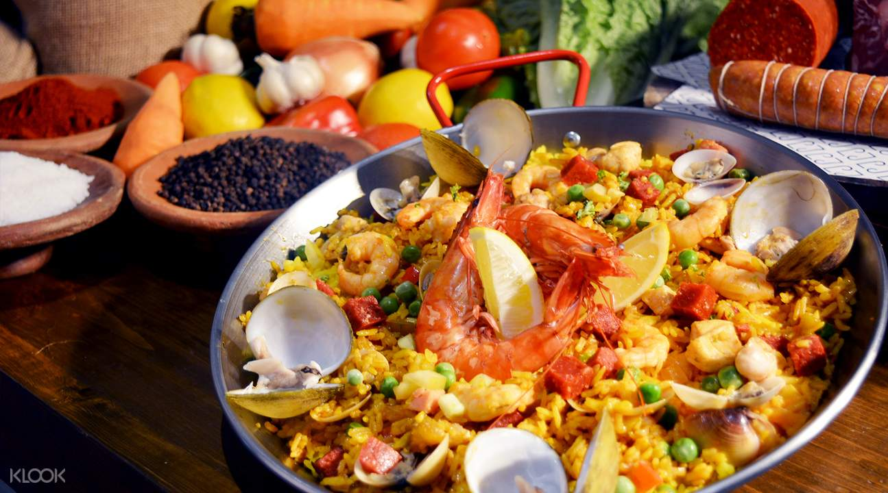 海鲜饭,林德酒店,长滩岛自助餐