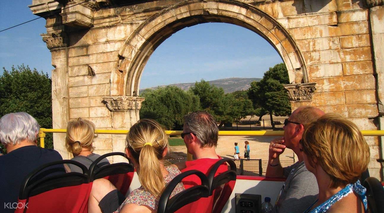 Athens red bus tour