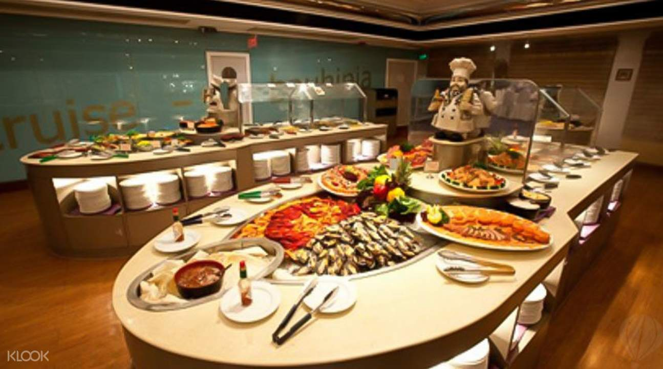 洋紫荊號自助餐自助餐