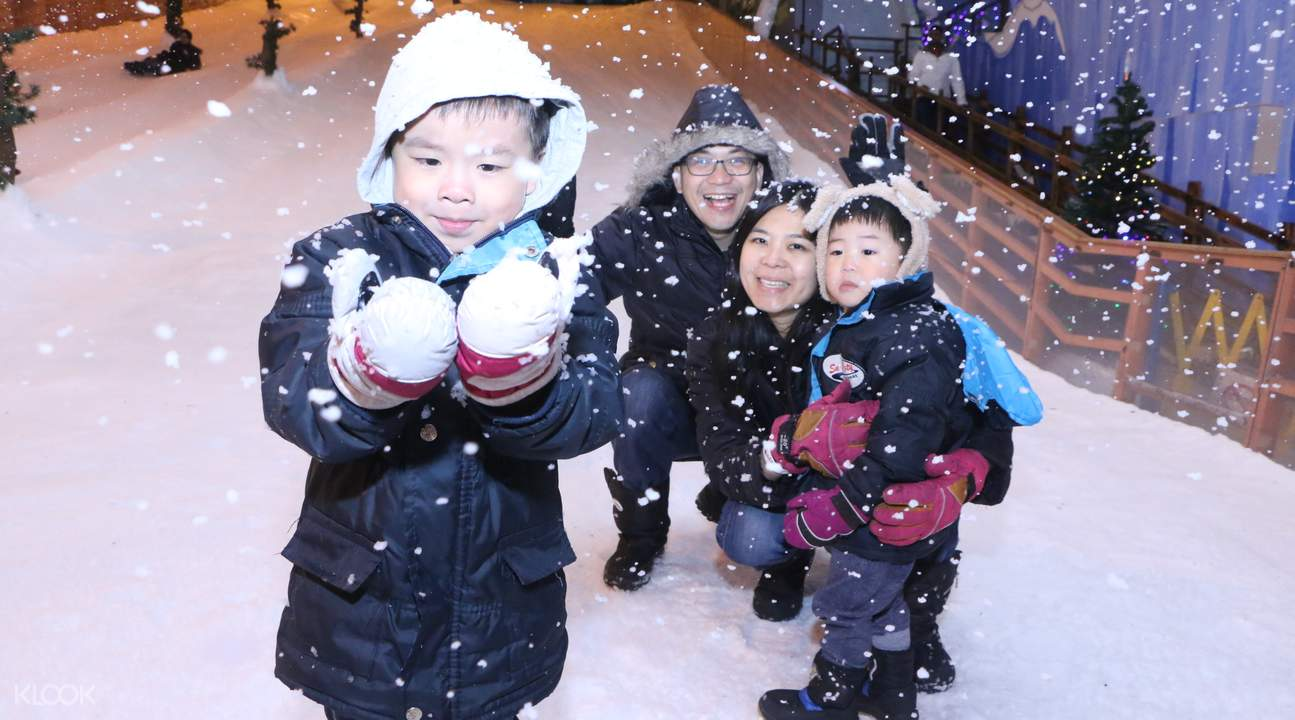 what to wear to snow city singapore